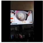 Panci meledak saat demo masak. (Istimewa/Twitter/Araf_ahmad)