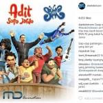 Slank Kampanye Anti-narkoba Lewat Film Animasi Adit Sopo Jarwo