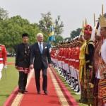 Presiden Jokowi Anugerahkan Bintang Adipurna untuk Raja Swedia