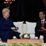Sejarah Baru, Presiden Lithuania Datang ke Indonesia