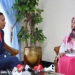 Bertemu Presiden Jokowi, Ini yang Diberikan Sri Wahyuni dari Sragen