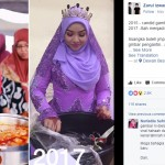 Pria ini jodoh dengan perempuan yang dicandidnya dua tahun lalu (Istimewa/Facebook/Zarul Izwan)