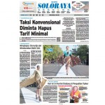 SOLOPOS HARI INI : Soloraya Hari Ini: Taksi Konvensional Diminta Hapus Tarif Minimal