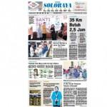 SOLOPOS HARI INI : Soloraya Hari Ini: Jalan Rusak, 35 Km Butuh 2,5 Jam