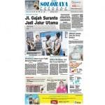 SOLOPOS HARI INI : Soloraya Hari Ini: Jl. Gajah Suranto Segera Jadi Jalur Utama