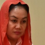 Bupati nonaktif Klaten Sri Hartini menjadi terdakwa kasus suap promosi dan mutasi jabatan di lingkungan Pemkab Klaten. (JIBI/Solopos/Antara/R. Rekotomo)