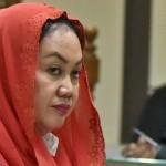 Bupati nonaktif Klaten Sri Hartini di Pengadilan Tipikor Semarang, Jateng, Senin (22/5/2017). (JIBI/Solopos/Antara/R. Rekotomo)