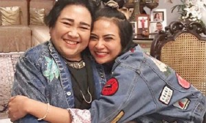 Vanessa Angel dan Rachmawati Soekarnoputri (Instagram @vanessaangelofficial)