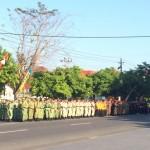 HARI KEBANGKITAN NASIONAL : Kapolda Jateng Gantikan Gubernur Pimpin Apel Bersama di Solo