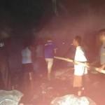 KEBAKARAN WONOGIRI : Kompor Tak Dimatikan, Rumah Warga Giritontro Hangus