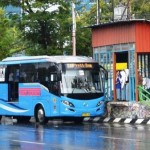 TRANSPORTASI SEMARANG : Jalan Rusak Paksa BRT Trans Semarang Alihkan Rute