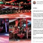 WALI KOTA SEMARANG : Di Tengah Keramaian SNC 2017, Hendi Rela Benahi Karpet Sendirian