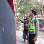 KOMUNITAS FACEBOOK : Lawan Vandalisme, Anggota ISK Mengecat Ulang Taman Lampion Klaten
