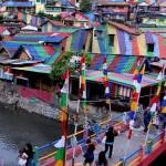 WISATA SEMARANG : Fasilitas Kampung Pelangi Semarang Terus Ditambah