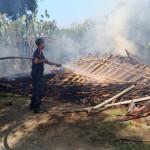 KEBAKARAN SRAGEN : Rumah Jerami di Gemolong Ludes Terbakar, Korban Jiwa Nihil