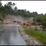 Tewaskan 7 Orang, Ini Detik-Detik Longsor di Luwu Timur Terjang Jalan