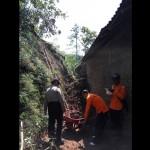 Tebing di Purwantoro Wonogiri Longsor, Tembok Rumah Jebol