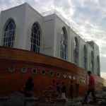 WISATA SEMARANG : Jadi Tempat Ngabuburit, Masjid Kapal Belum Gelar Salat Tarawih