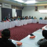 Puluhan Pedagang Pasar Masaran Beraudiensi di DPRD Sragen