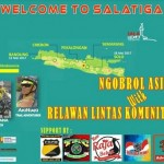 HARI KEBANGKITAN NASIONAL : Bersepeda ke Solo Songsong Harkitnas, Sukarelawan Bandung Singgah Salatiga