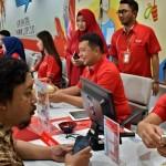Foto HUT Telkomsel, GM Layani Pelanggan