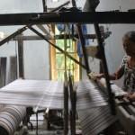 INDUSTRI KLATEN : Produksi Ramah Lingkungan, Lurik Cawas Diusulkan Raih Eco Label