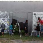 Melihat Potret Kondisi Sosial Politik Indonesia di Tembok Kridosono