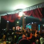 Konser Band Wali Buka Bazar Ramadan di Ponorogo
