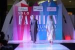 Model memperagakan busana pada Solo Fashion Runway di Solo Paragon Lifestlye Mall, Solo, Minggu (18/6/2017) malam. (Nicolous Irawan/JIBI/Solopos)