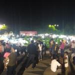 LEBARAN 2017 : Rayakan Malam Takbir, Warga Sragen Berkumpul di Alun-Alun