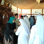 LEBARAN 2017 : Open House di Rumdin Bupati Sragen, Kapolres Ikut Antre Bersama Warga