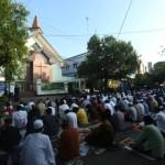 LEBARAN 2017 : Hormati Umat Islam Rayakan Idul Fitri, Jemaah GKJ Kratonan Solo Undur Kebaktian