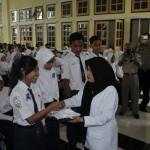 PENDIDIKAN KLATEN : Polisi Lakukan Pengawasan Khusus saat Pengumuman Kelulusan SMP