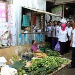 RAZIA KARANGANYAR : DKK Temukan Cendol Warna Pink dan Teri Nasi Mengandung Zat Berbahaya