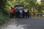 Sudah Ratusan Kendaraan Tak Mampu Menanjak di Jalur Cinomati