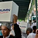 RAMADAN 2017 : KAI Semarang Bagikan 1.500 Paket Bahan Pokok di Tawangsari