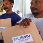 RAMADAN 2017 : 1.500 Paket Bahan Kebutuhan Pokok Disalurkan Bulog ke Rejosari