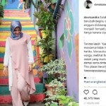 WISATA SEMARANG : Ke Kampung Pelangi, Begini Komentar Dewi Sandra…
