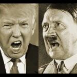 Donald Trump (kiri) dan Adolf Hitler (kanan) (Youtube.com)