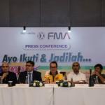 Jumpa pers program Jagoan Bola Giant untuk Indonesia. (JIBI/ANTARA FOTO/Aprillio Akbar)