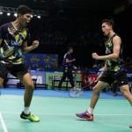 INDONESIA OPEN 2017 : Menangi Perang Saudara, Fajar/Rian ke Perempatfinal