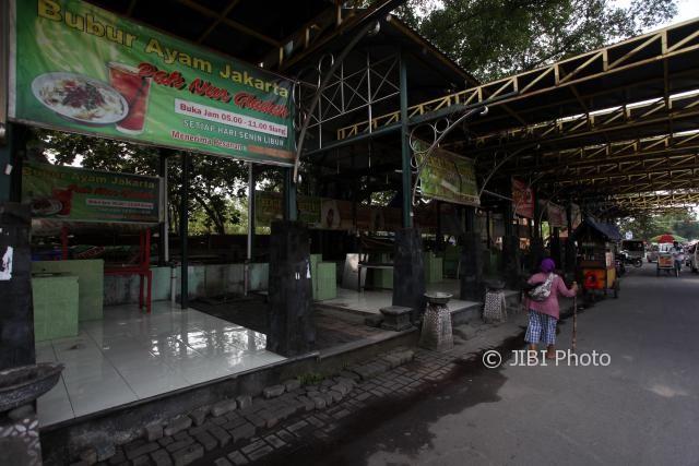 Suasana Gladak Langen Bogan (Galabo) Solo. (M Ferri Setiawan/JIBI/Solopos)