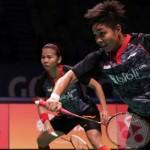 INDONESIA OPEN 2017 : Greysia/Apriani Ditundukkan Pasangan Unggulan Korea