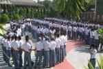 Kegiatan halal bihalal yang dilakukan para siswa SMKN 2 Wonogiri beberapa waktu lalu. (Trianto Hery Suryono/JIBI/Solopos)