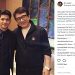 INSTAGRAM ARTIS : Diundang Jackie Chan, Iko Uwais Bikin Iri
