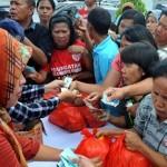 Pasar Murah di Balai Kota Semarang, Paket Sembako Dijual Separuh Harga