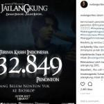 FILM TERBARU : 4 Hari Tayang, Jailangkung Sukses Menghantui 600.000 Penonton