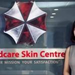 Klinik kecantikan pakai logo Umbrella Corporation. (Istimewa/medcare.co.vn)