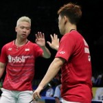 KOREA OPEN 2017 : Marcus/Kevin Tumbang di Final