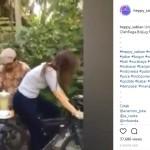 VIDEO UNIK : Kreatif & Bikin Sehat, Perempuan Ini Genjot Sepeda untuk Bikin Jus